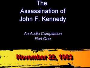 JFK Assassination Audio